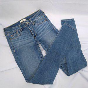 Abercrombie & Fitch Skinny Blue Denim Jeans